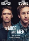 OF MICE AND MEN Broadway poster, feat. James Franco and Chris O'Dowd